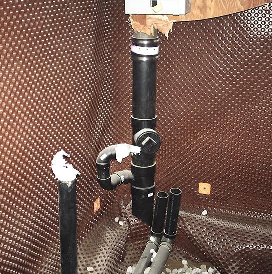 Basement Plumbing Pipes