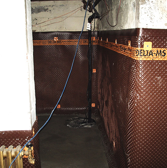 Basement Waterproofing with sump pump