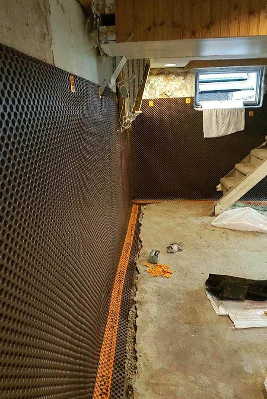 Interior Basement Waterproof