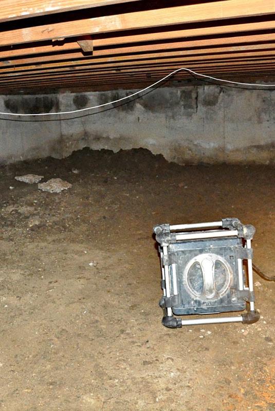 crawl space excavation