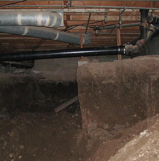 excavate crawl space